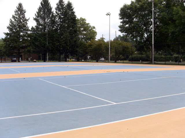 Photo 9 Converting Tennis Courts